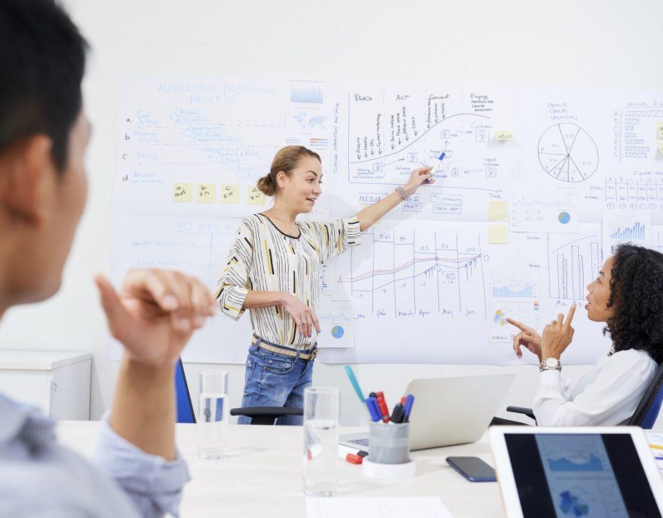 un coaching en entreprise