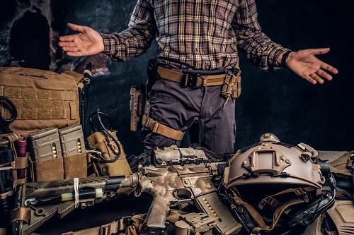 equipement militaire tactique
